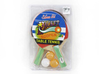Wooden Ping-pong Set toys