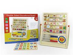 English Wooden Calculation Learning Frame