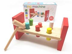 Wooden Piling Machine toys