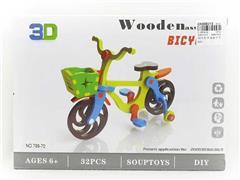 Wooden Bike toys