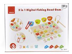 Wooden Digital Fishing Puzzle Box toys