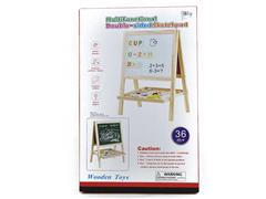 Wooden Magnetic Double Sided Writing Board toys