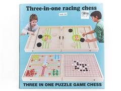 3in1 Wooden Chess toys