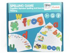 Wooden Spelling Game toys