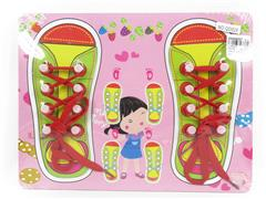 Wooden Shoes Puzzle toys