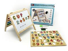 Wooden Drawing Board & Magnetic Alphanumeric toys