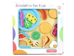 Wooden Food Cut Set toys