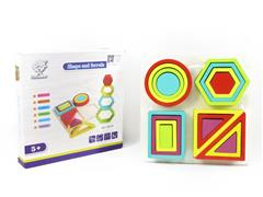 Wooden Shaped Sleeve toys