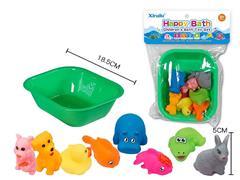 Latex Animal & Tub(8in1)