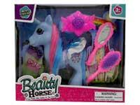 Latex Horse Set