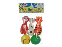 Latex Animal & Ball(5in1) toys