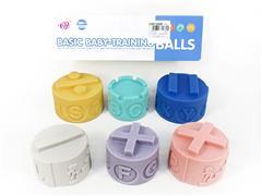 Latex Jenga(6in1) toys