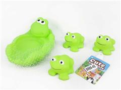 Latex Frog(4in1) toys