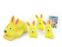 Latex Rabbit(4in1) toys