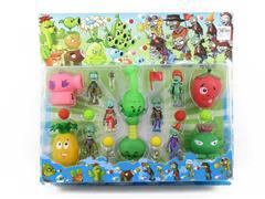 Latex Plants V.S. Zombies(4S) toys