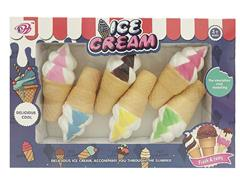 Latex Ice Cream(6in1) toys