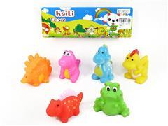 Latex Dinosaur(6in1) toys