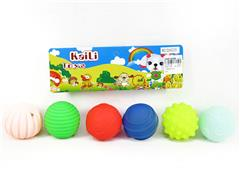 Latex Massage Ball(6in1) toys