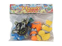 Latex Sea Animal(4in1) toys