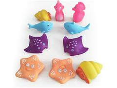 Latex Sea Animal(10in1) toys