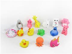Latex Animal(14in1) toys