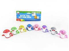 Latex Shark Baby(8in1) toys