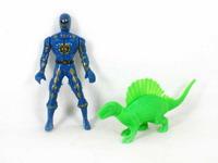 Super Man & Dinosaur