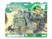 Robot W/L & Soft Bullet Gun
