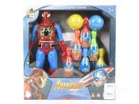 Spider Man Set W/L_S