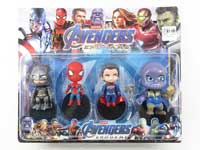 4-4.5inch The Avengers Set(4in1)