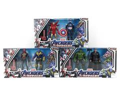 7inch The Avengers Set W/L(2in1) toys