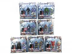 7inch The Avengers Set W/L(7S) toys