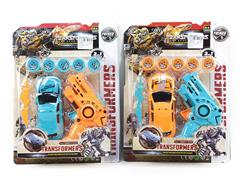 Transforms Car & Shoot Gun(2S2C)