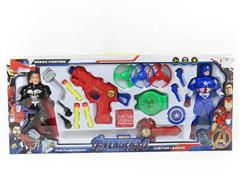 Captain America & Thor Set W/L(2in1) toys