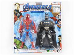 Spider Man & Bat Man W/L(2in1) toys