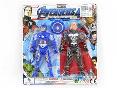 Captain America & Thor W/L(2in1) toys