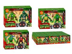 4inch Turtles(12in1) toys