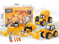 Diy Construction Truck Set