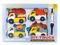 Diy Construction Truck(4in1)