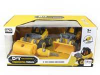 Diy Construction Truck(2in1)