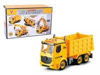 1:12 Diy Friction Construction Truck W/L_S