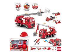 1:12 Diy Friction Fire Engine W/L_S