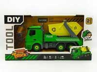 Diy Sanitation Truck W/L_M