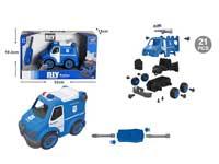 Diy Police Car W/S_IC