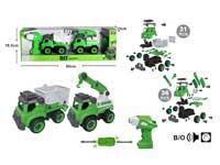 Diy Sanitation Truck W/S_IC(2in1)