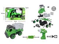 Diy Sanitation Truck W/S_IC