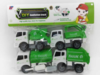 Diy Sanitation Truck(4in1)
