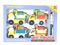 Diy Construction Truck(4in1)