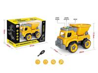 Diy Construction Truck W/L_S toys