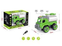 Diy Car W/L_S toys